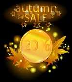 Gold Coin. Autumn Sale.