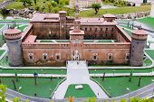 Castello Sforzesco in miniature