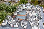 Trulli di Alberobello in miniature