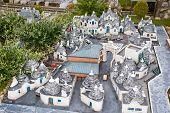 Trulli di Alberobello in miniature