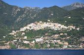 scenic view of village raito on amalfi coast in italy