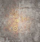 Steampunk Grunge Background