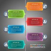 SEO infographics design