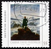 Postage Stamp Germany 2011 Painting By Caspar David Friedrich