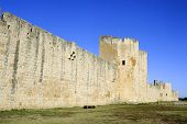 The Ramparts Of Aigues-mortes