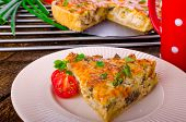 French Quiche Vegetarian
