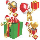 Gold Guy Christmas