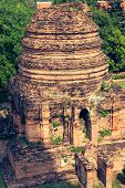 Wat Yai Chaimongkol Temple In Ayutthaya Thailand
