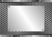 Blank Silver Plaque