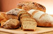 Composition With Bread And Rolls. Baking Products