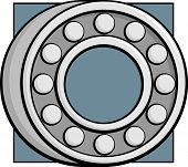 foto of ball bearing  - ball bearing - JPG