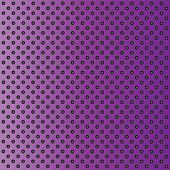 Concept conceptual violet abstract metal stainless steel aluminum perforated pattern texture mesh background as metaphor to industrial, abstract, technology, grid, silver, grate, spot, grille surface