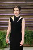 WEST HOLLYWOOD - MAR 2:: Emilia Clarke at the 2014 Vanity Fair Oscar Party on March 2, 2014 in West Hollywood, California