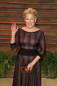 WEST HOLLYWOOD - MAR 2:: Bette Midler at the 2014 Vanity Fair Oscar Party on March 2, 2014 in West Hollywood, California