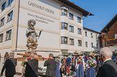 Maria Ascension Procession Oberperfuss, Austria.