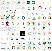 image of geometric  - Logo mega collection - JPG