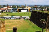 View from the Fort of Galle city