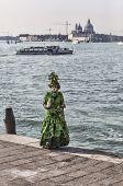 Green Venetian Costume