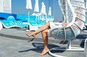 view of nice woman legs