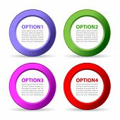Options text icons