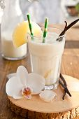 foto of pina-colada  - Pina Colada with pinapple and vanilla beans - JPG