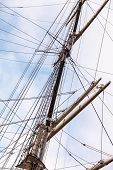pic of mast  - ship mast - JPG