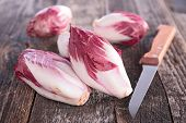 picture of chicory  - raw chicory - JPG