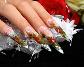 pic of nail-design  - Bride - JPG