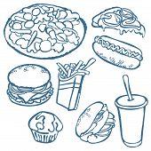 foto of hamburger  - Fast food - JPG