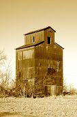 stock photo of silos  - Vintage - JPG