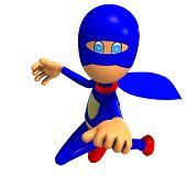 funny cartoon super hero