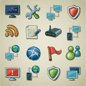 Freehands icons - networking