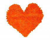 Red Caviar Heart