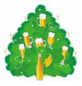 Постер, плакат: Пиво Новый год