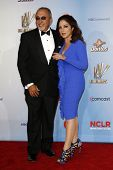 LOS ANGELES - SEP 10:  Emilio Estefan, Gloria Estefan arriving at the 2011 NCLR ALMA Awards held at