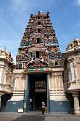 KUALA LUMPUR - MAY 22: Devotees congregate to the Sri Maha Mariamman Temple to pray on May 22, 2011,