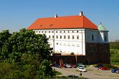 Sandomierz - May 11: View of the castle of the Polish city Sandomierz on May 11, 2011 in Sandomierz, Poland.