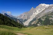 Mont Blanc From Ferret Valley
