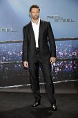 MUNICH - SEPT 12: Hugh Jackman at the Real Steel photocall at Hotel Bayerischer Hof on September 12,