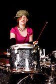 Drumming Teen