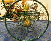Wheel Of Horseless Carriage