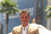 LOS ANGELES - JULY 25: Matt Damon at a ceremony where Matt Damon is honored with the 2,343rd star on