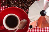 Morning Coffee, Detail.