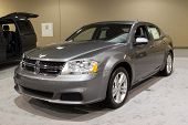 JACKSONVILLE, FLORIDA-FEBRUARY 18: A 2012 Dodge Avenger SXT at the Jacksonville Car Show on February