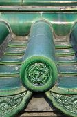 Ornate Chinese Roof Tiles, Temple Of Heaven, Beijing