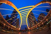Sky Bridge Connection To Bangkok Rapid Transit Station, Sathon Junction, Bangkok,thailand