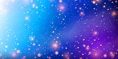 Planets And Galaxy, Cosmos, Science Fiction Wallpaper. Beauty Of Deep Space. Billions Of Galaxies In poster