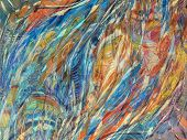 foto of abstract painting  - abstract backgrounds paintings on oil canvas - JPG