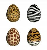 Furry Easter Eggs