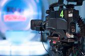 Televisie Studio Camera